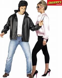 Déguisement Couple Célèbre : couple grease deguisement adulte en couple le ~ Melissatoandfro.com Idées de Décoration