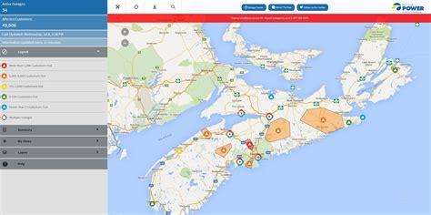 map nova scotia power