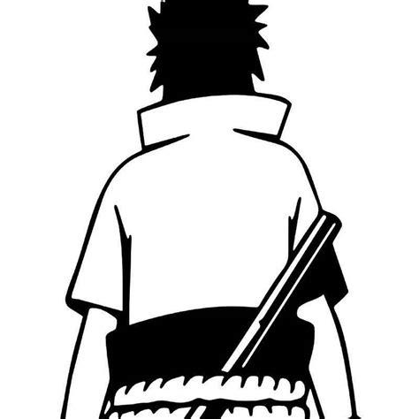 sasuke uchiha vinyl sticker