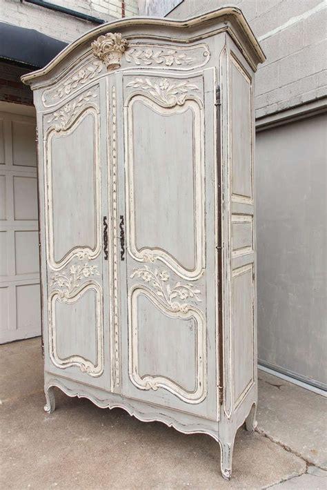 painted louis xv armoire   unique collection
