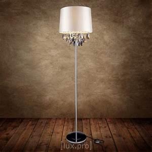 Lampe Mit Kristallen : stehlampe mit kristallen my blog ~ Orissabook.com Haus und Dekorationen