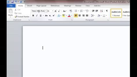 how to format the mla essay in ms word 2010 choosing