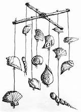 Wind Seashell Chime Chimes Surf Surfgirl Magazine Surfing Womens Surfgirlmag Simple sketch template