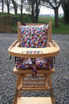 chaise haute qui fait transat chaise haute poupon de recup et sa housse sur mesure c 39 est moi qui l 39 ai fait