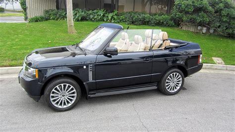 2 Door Range Rover Convertible