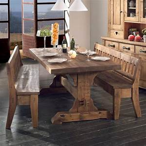 Table En Pin Massif : table brocante vieux bois en pin massif photo 2 20 ~ Teatrodelosmanantiales.com Idées de Décoration