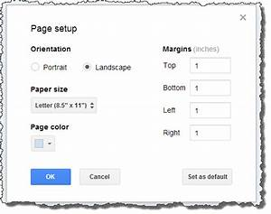 How to type landscape in google docs beatiful landscape for Google docs single page