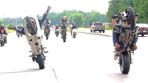 Long Street Bike Wheelie On Highway Kawasaki Ninja Zx6r