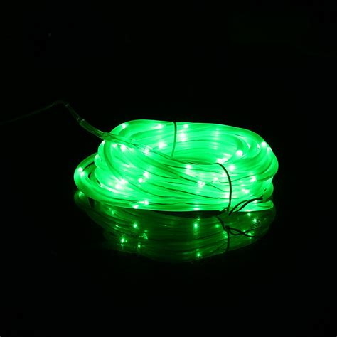 7m 50 Led 4*6mm Solar Powered Indoor Outdoor Copper Wire