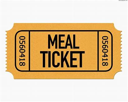 Ticket Meal Template Templates Tickets Per Raffle