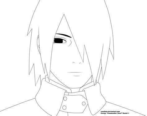 Sasuke And Naruto Wallpaper Sasuke Boruto The Movie Lineart By Rosolinio On Deviantart