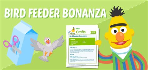 sesame preschool amp coloring pages 397 | 955x459 Feature BirdFeederBonanza printable