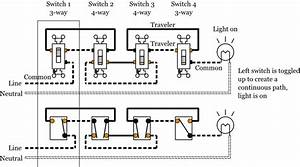 4 Gang 4 Load Toggle Wiring Diagram