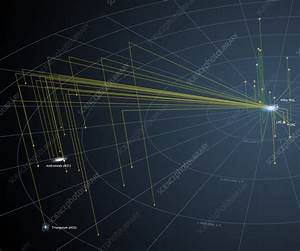 Schematic Diagram Of Local Group Galaxies - Stock Image C012  5183