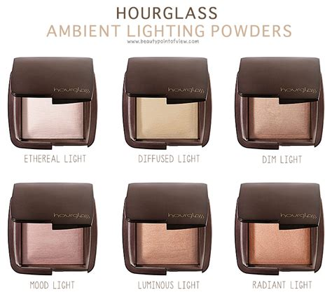 hourglass ambient lighting powder hourglass ambient lighting blush point of view