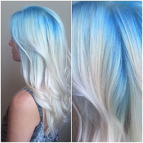 Blond Hair Blue by 10 Intriguing Blue Hairstyles And Color Ideas 2019