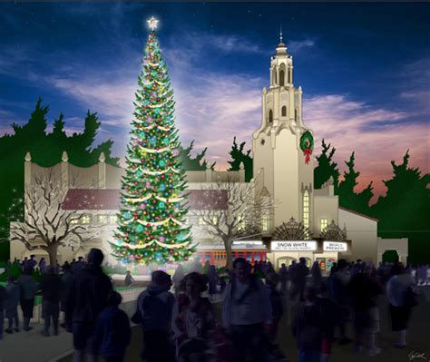 creating holiday traditions  buena vista street
