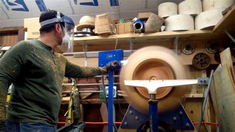 woodturning  grain  pine bowl part  finish