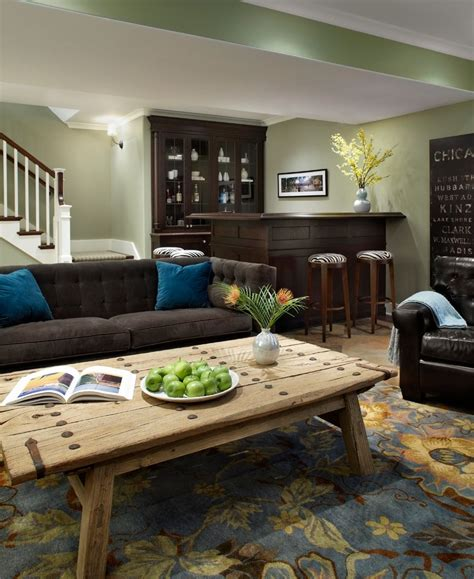 Basement Bar Height by Bar Height Sofa Table Family Room Traditional With Area