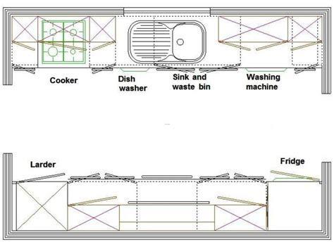 Galley Kitchen Layout. / design bookmark #15026