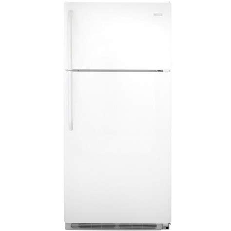 frigidaire 18 cu ft top freezer refrigerator