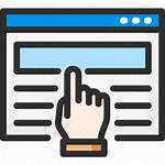 Web Icon Website Browser Hand Icons Editor
