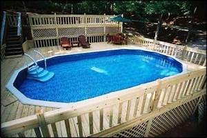 Above, Ground, Pool, Slide, No, Deck