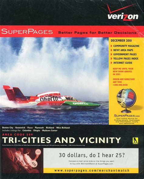 Phone Directories | The Hydroplane Programme Covers Project