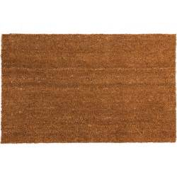 Plain Coir Doormat by Plain Pvc Coir Doormat Large At Homebase Co Uk