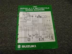 1987 Suzuki Gsxr750 Cavalcade Savage Intruder Electrical