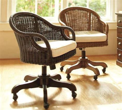 rattan swivel desk chair rattan swivel desk chair home decoration