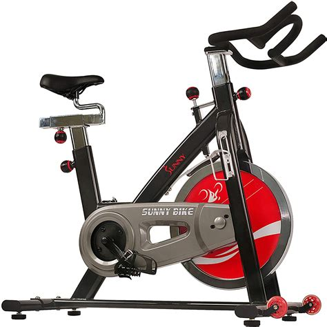 Sunny Health & Fitness Exercise Cycling Bike with Heavy 49 ...