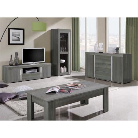 Meuble Salon Gris table de salon bois gris quot lavigne quot meuble house achat
