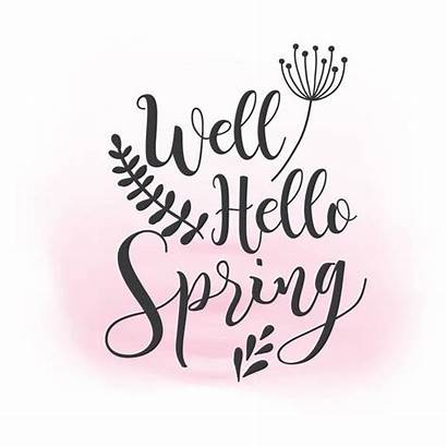 Spring Clipart Quotes Svg Hello Cliparts Word