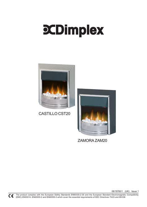 Dimplex Electric Fireplace Manuals Fireplace Ideas