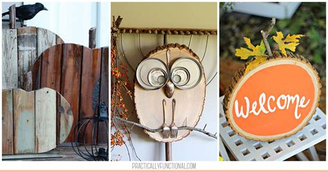 simple fall wood crafts