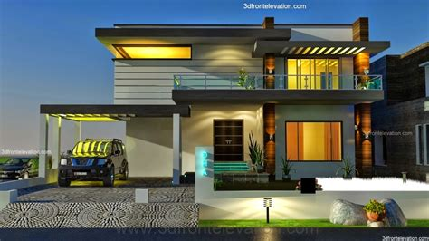 amazing modern front elevation home design 40 about
