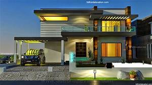 Modern Home Plans With Elevation