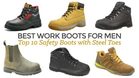 Best Safety Shoes Best Work Boots For With Steel Toes Ultimate Review