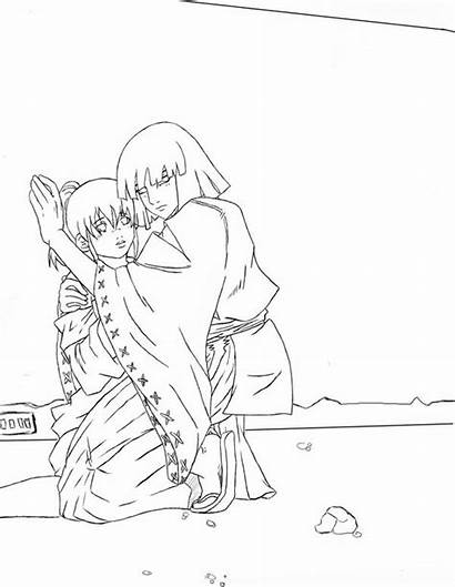 Spirited Away Coloring Detailed Template