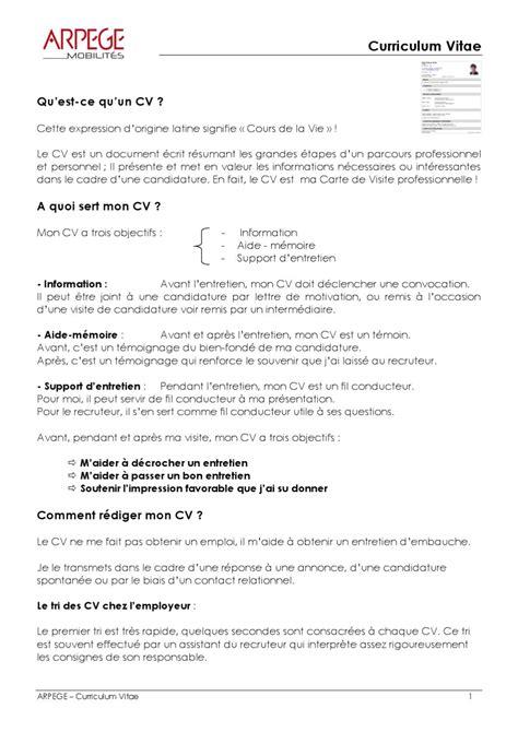curriculum vitae by arpege formation issuu