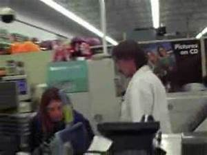 stupid people at wal mart trying my camera buying it - YouTube