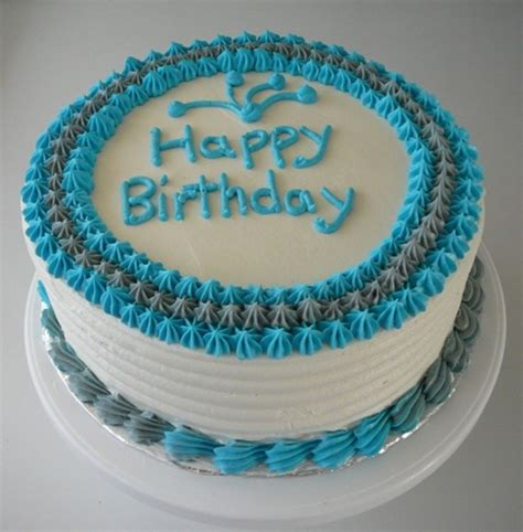 simple male birthday cake cakecentral com