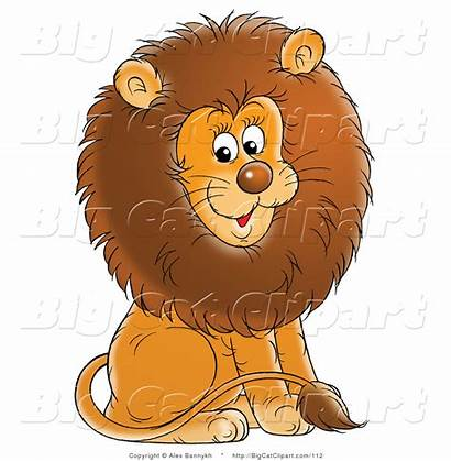 Lion Mane Clipart Cat Male Brown Fluffy