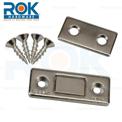 magnetic catches for kitchen cabinets sugatsune ultra thin cabinet furniture door magnetic catch 9103
