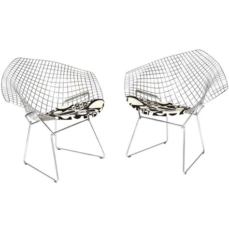 chairs by harry bertoia for knoll at 1stdibs