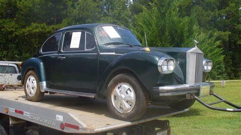 Rolls Royce Volkswagen pint sized rolls royce 1974 volkswagen beetle