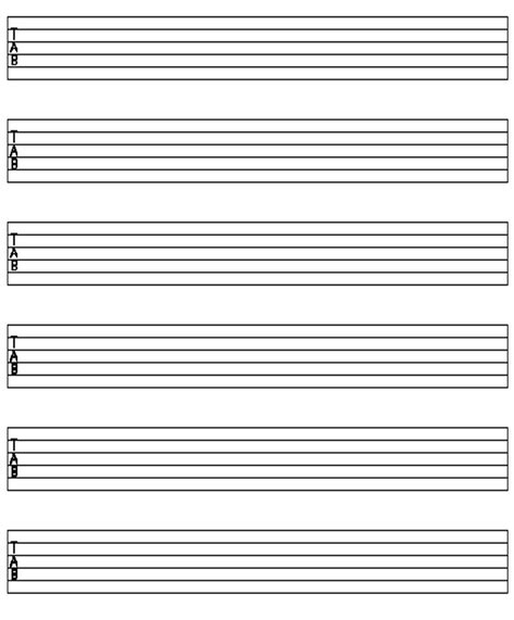 Download printable staff paper of all types. iPadpapers.com - guitar staff paper templates