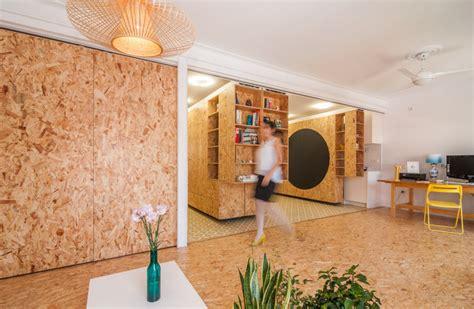 cuisine osb un intérieur modulable avec des panneaux d 39 osb