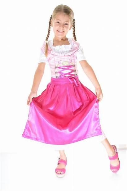 Dirndl Pink Child Dsc Pc